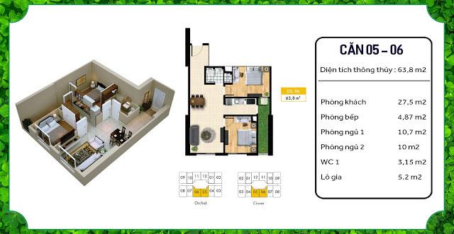 thiết kế căn hộ an bình homeland 05 06