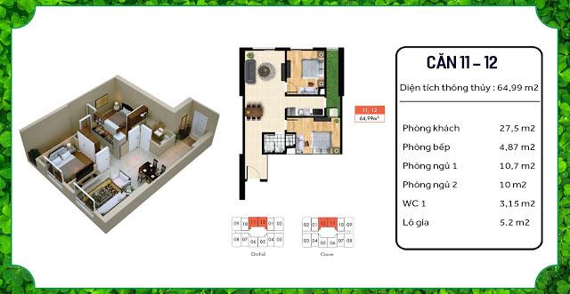 thiết kế căn hộ an bình home land 11 12