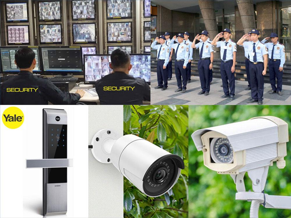 bảo vệ giám sát 24/7 tại dự án